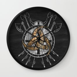 Horn of Odin Wall Clock