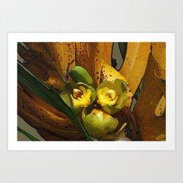 Banana Rama Ding Dong Art Print