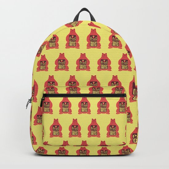 Fries Before Guys Backpack