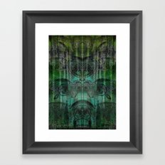 Hungry Eyes Framed Art Print