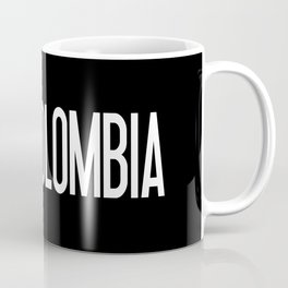 Colombia: Colombian Flag & Colombia Coffee Mug