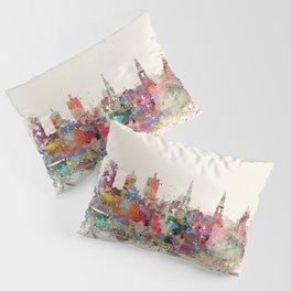 leeds united kingdom Pillow Sham