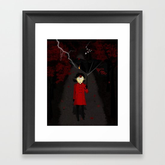 Misforautumn Framed Art Print