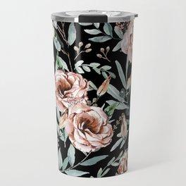 Floral Explosion Travel Mug