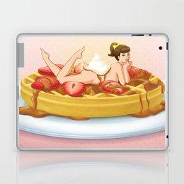 Waffle Girl Laptop & iPad Skin
