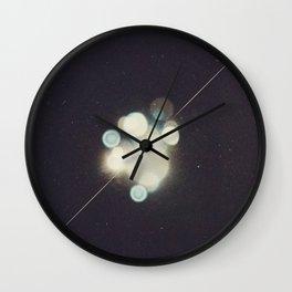 Many Moons (Between Us) Wall Clock