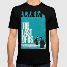 The Last Of Us Mens Fitted Tee X-LARGE Black
