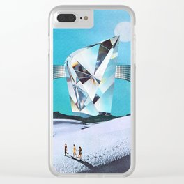 Where Ever We Go, We'll Go Together Clear iPhone Case