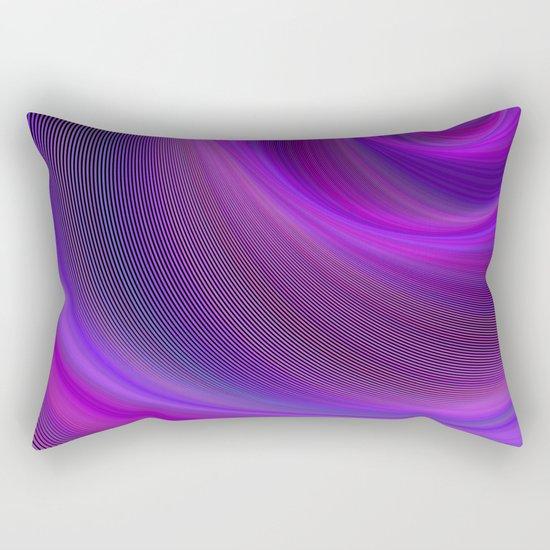 Purple night storm Rectangular Pillow
