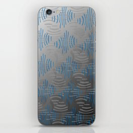 Pinched Lines iPhone Skin