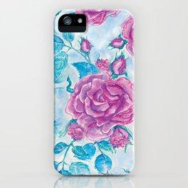 Evening Rose iPhone Case