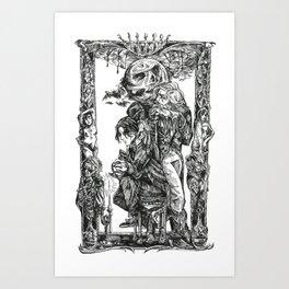 Inktober 2018: Drian Art Print