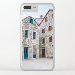 Stari Grad 1.2 Clear iPhone Case