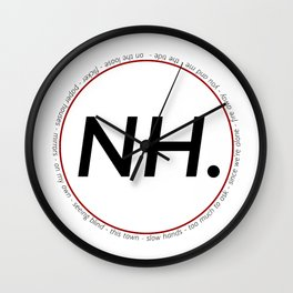 niall horan Wall Clock