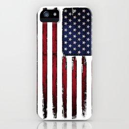 United states flag iPhone Case