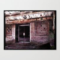silent hill Canvas Prints featuring Silent Hill by Damn_Que_Mala