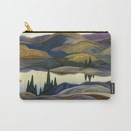Canadian Landscape Franklin Carmichael Art Nouveau Post-Impressionism Mirror Lake Carry-All Pouch