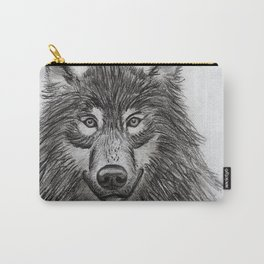 Wolf // #ScannedSeries Carry-All Pouch