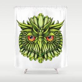 Crystal Owl EDC Shower Curtain