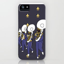 Mardi Gras - I Came for the Bands! iPhone Case