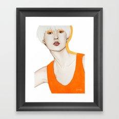 Close Up 15 Framed Art Print