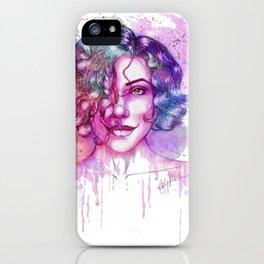 Naturally Lana iPhone Case