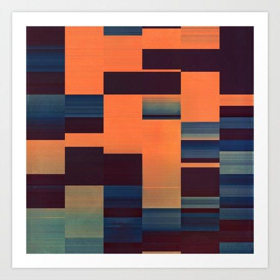 glytch hyryzyn Art Print