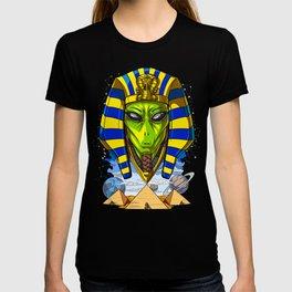 Alien Egyptian Pharaoh Tutankhamun Ancient Conspiracy T-shirt