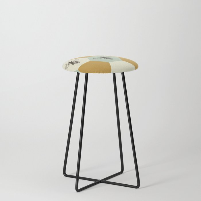 Beehive Counter Stool