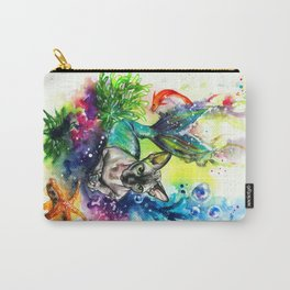 Moomin the purrmaid Carry-All Pouch
