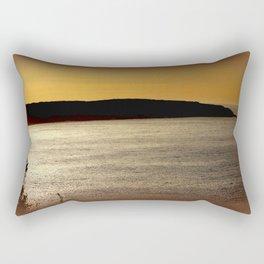 Sunsetting at Portland Rectangular Pillow