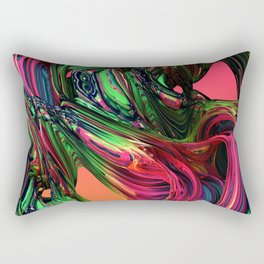 Purple B*tch Rectangular Pillow