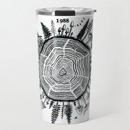 Growth Rings Travel Mug