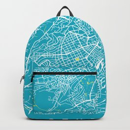 STUTTGART City Map | Germany | Aqua | More Colors, Review My Collections Backpack