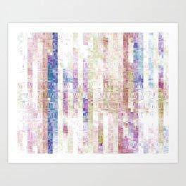 Winds / December 2013 / Cary, NC / Process.2014.05 Art Print