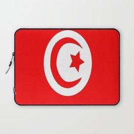 Flag of Tunisia Laptop Sleeve