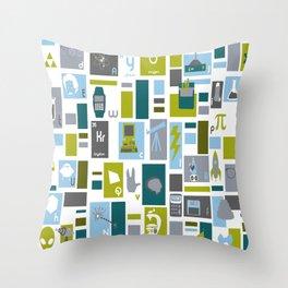 Geek Chic Throw Pillow