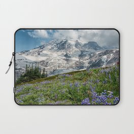 Scenic Landscape Art, Mt. Rainier, Mt. Rainier National Park, Paradise Laptop Sleeve