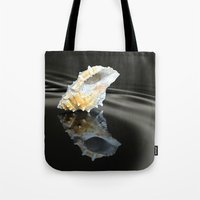 seashell Tote Bags featuring Seashell by Lyn Evans