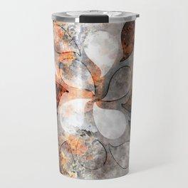 Metallic water drops Travel Mug