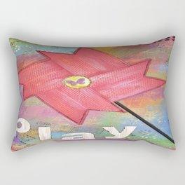 Pinwheel Play Rectangular Pillow