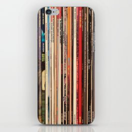 Alt Country Rock Records iPhone Skin