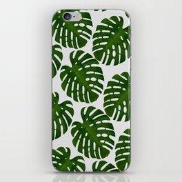 Monstera Leaf II iPhone Skin