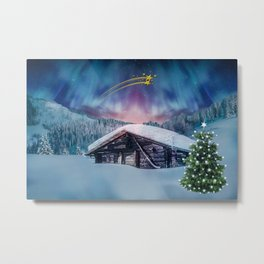 Christmas night #society6 #decor #buyart Metal Print