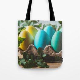 Easter Eggs 28 Tote Bag