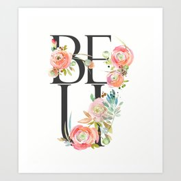 BE U Art Print
