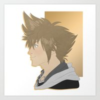 Sora left Art Print