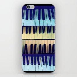 piano1 iPhone Skin