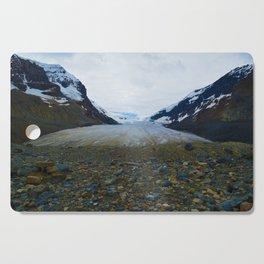 Columbia Icefields in Jasper National Park, Canada Cutting Board