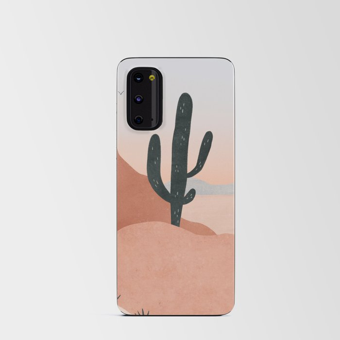 saguaro sunset Android Card Case
